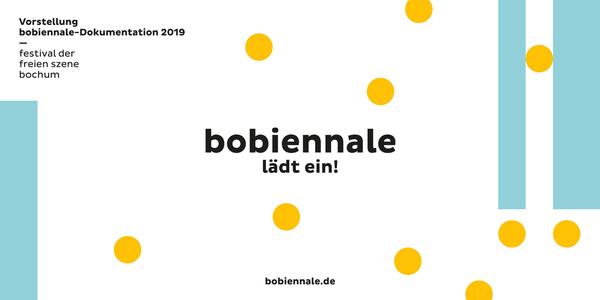 Vorstellung der bobiennale-Dokumentation 2019