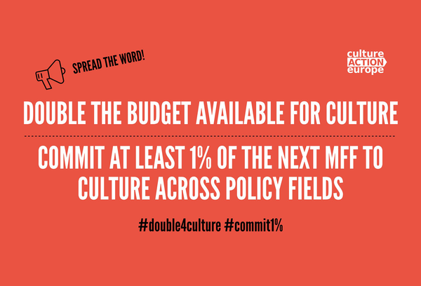 #Double4Culture und #1%forCulture